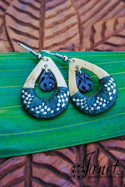 Samoa Coconut Earring JIWE52