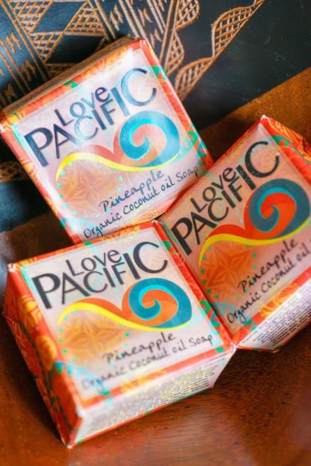Love Pacific Pineapple Soap Set of 3 LP312