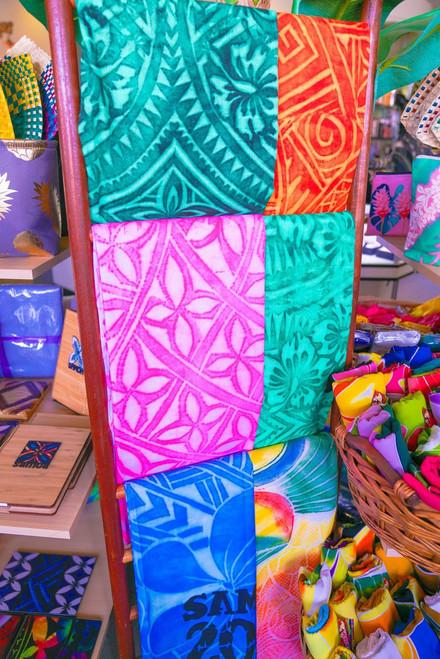 Teropika 6 x Set of  Pacific Sarong Easy Wear