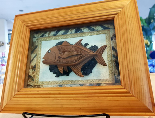 Frame Master Wood Fish BRF352