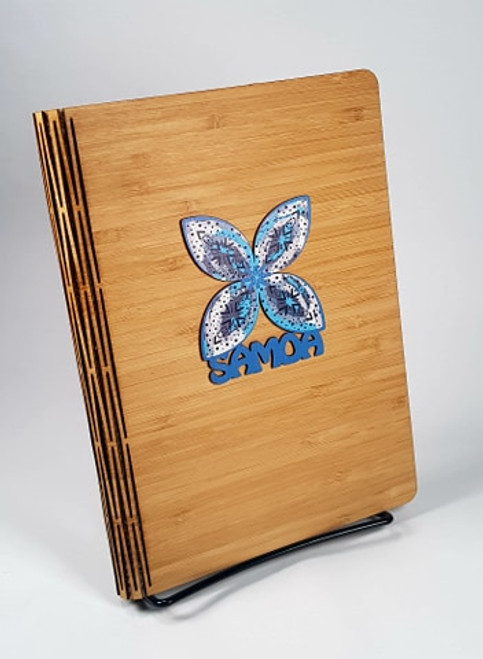 Bamboo Journal Tapa Blue HW02