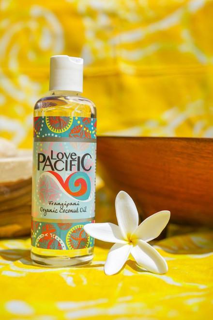 Love Pacific Frangipani Body Oil LP301