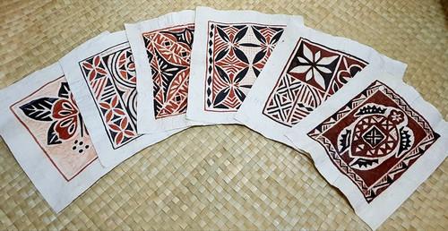 Set of 6 Tapa 1 Block HW06