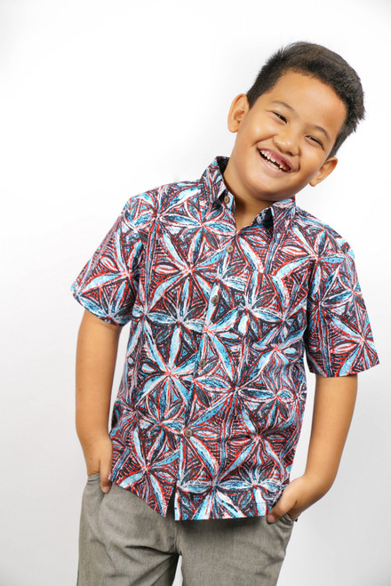 Galu Boys Nova in Blue/Red