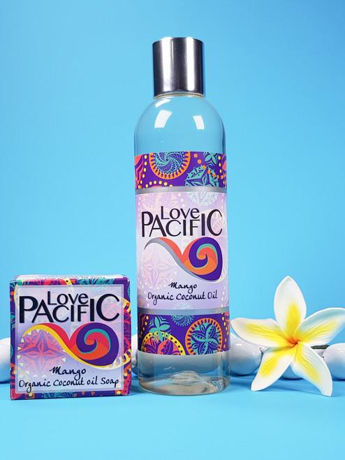 Love Pacific set Body oil & soap Mango LP326