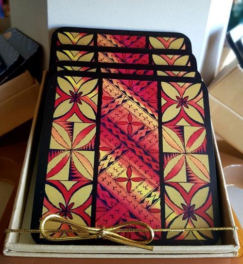 CA Printed Coaster Tapa Box CAPC310