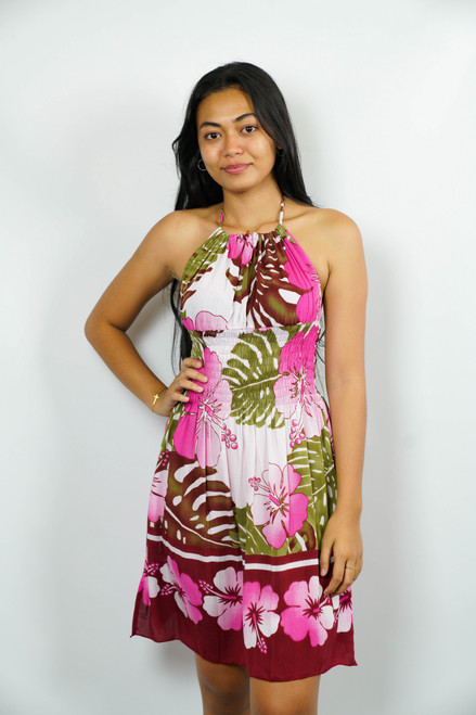 BEACH WOMEN Samoan Dress ONE SIZE
