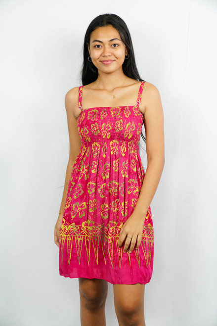 Samoan Dress RAYON BEACH ONE SIZE