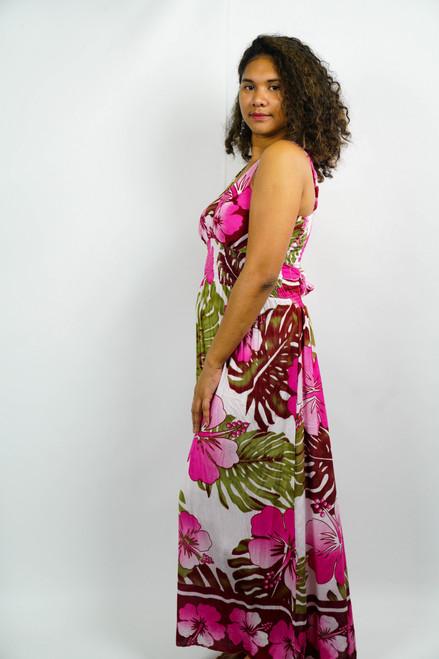 Samoan Dress WOMENS LONG LARGE