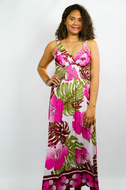 Samoan Dress WOMENS LONG XLARGE