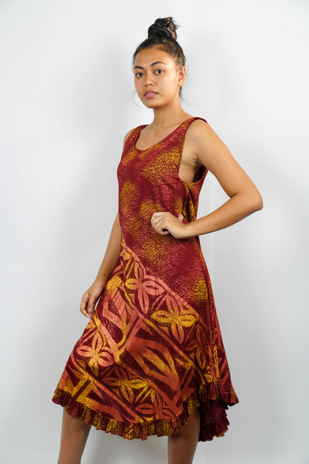 Samoan Dress 1 OFT DRESS SMALL