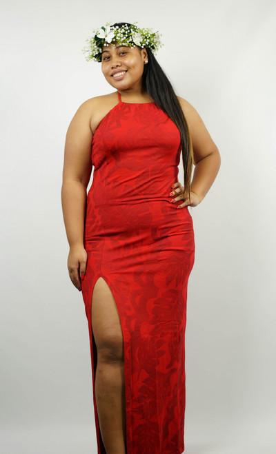 TERII DRESS RED SIZE 16 TAV918