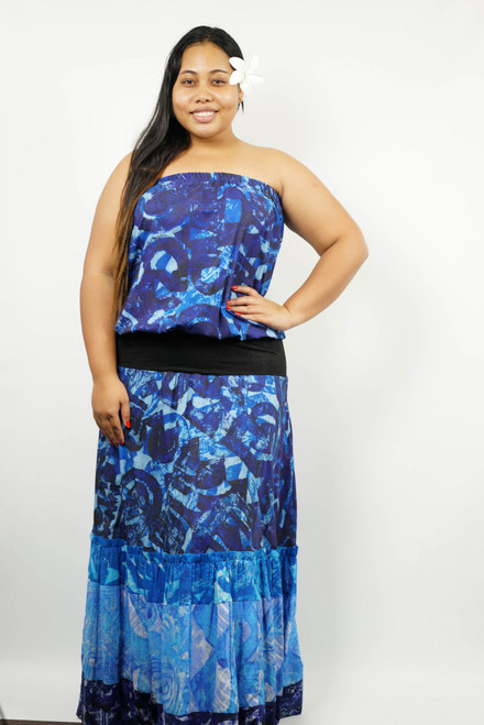 AT269 LONG BLUE SIZE XL TAV987