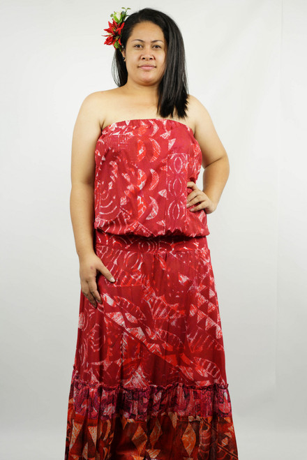 AT269 LONG RED SIZE XL TAV988