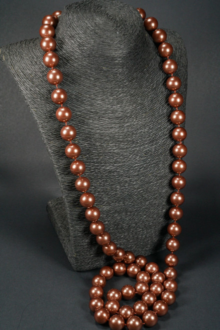 WEBJP156 MOP PEARL NECKLACE 44""
