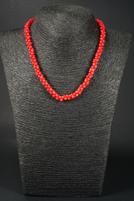 WEBJC11 BBY CORAL NECKLACE