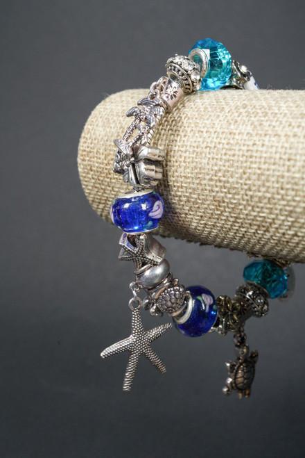 WEBJPB60 BLUE PANDORA BRACELET