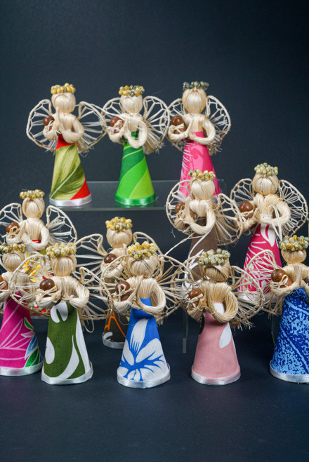 Set of 12 ISLAND ANGEL SMALL