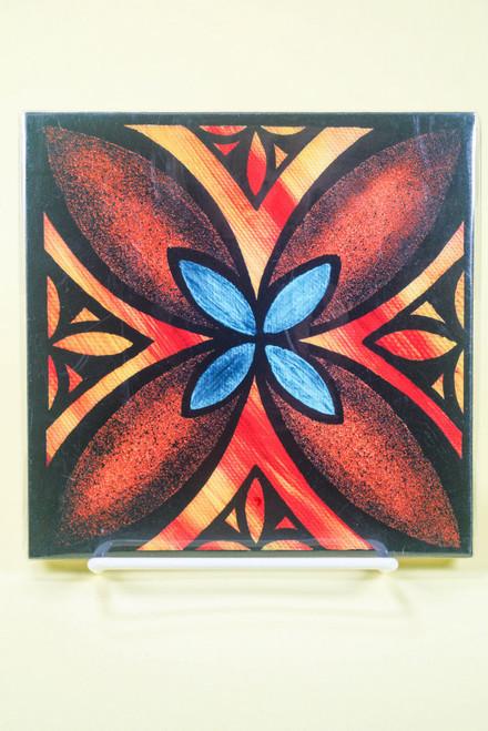 SAMOAN ART S FLOWER 1