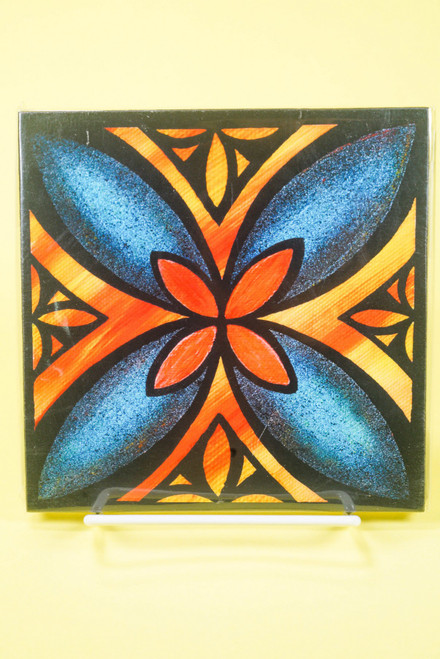 SAMOAN ART S FLOWER 2