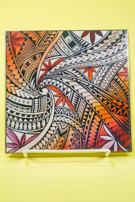 SAMOAN ART S TAPA DESIGN