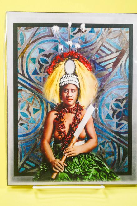SAMOAN ART M REC TAUPOU
