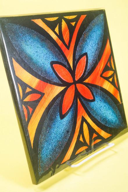 SAMOAN ART M FLOWER 2