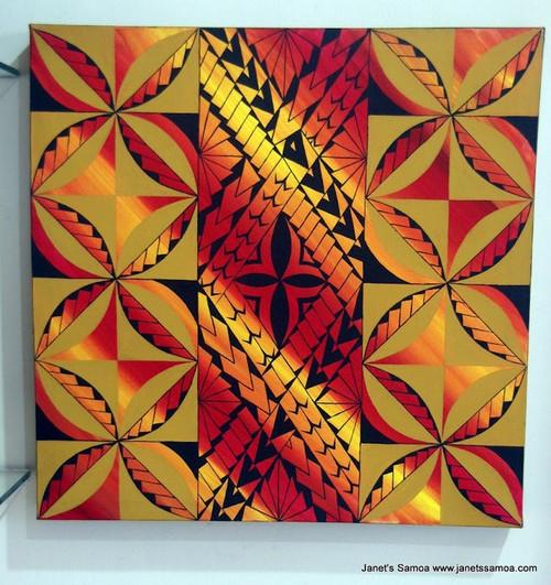 Samoan Motif Patterns DKP35