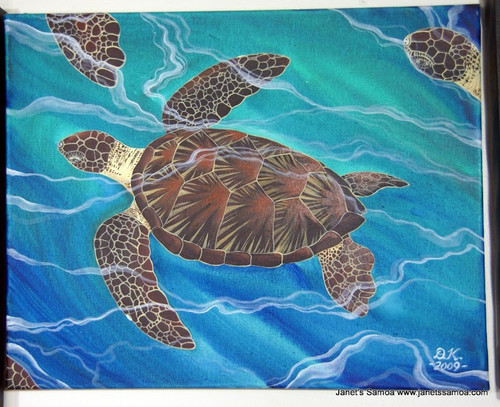 Laumei/Turtle Pacific Ocean DKP46