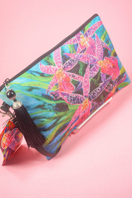 AM CLUTCH PURSE DANCING ORCHID