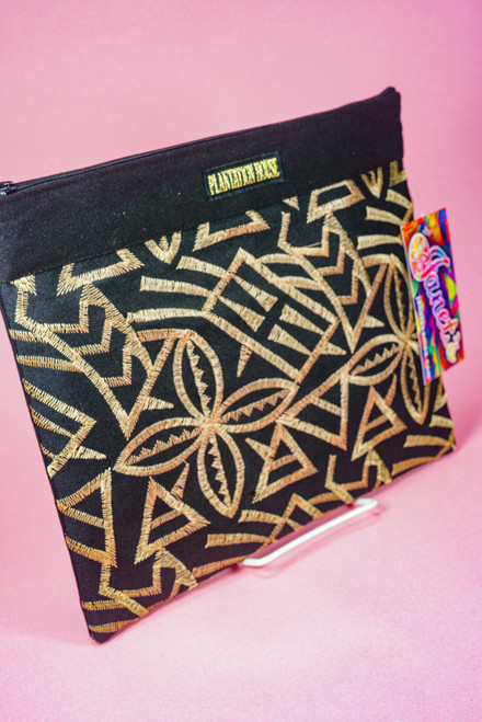 PH EMBROIDERED CLUTCH WEBPH68