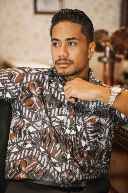ALII Samoan Shirts  INFINITY- CLOUD