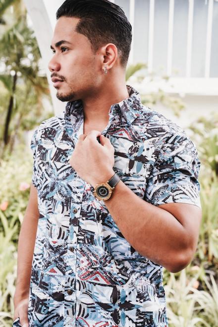 ALII Samoan Shirts SHIFTED - TIDE