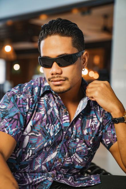 ALII Samoan Shirts SHIFTED - MOON