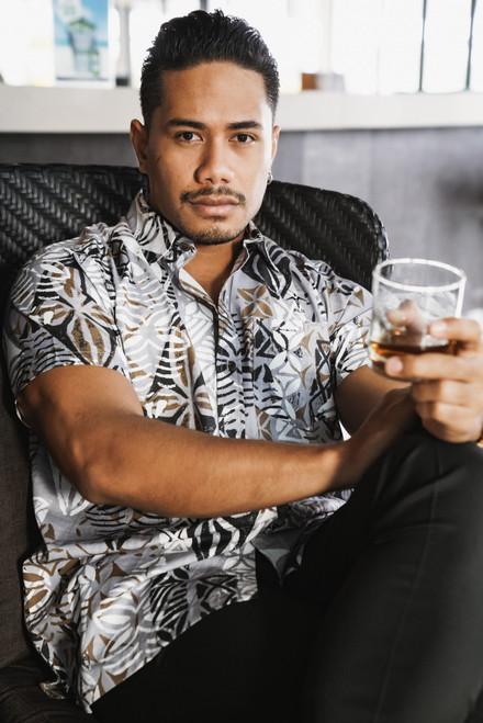 ALII Samoan Shirts MATRIX - NEO