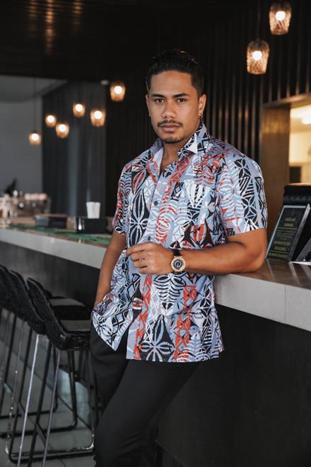 ALII Samoan Shirts MATRIX - FALL