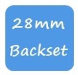GU 28mm Backset
