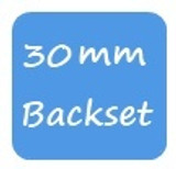 30mm Backset KFV
