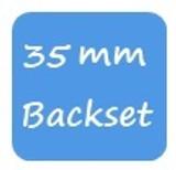 Winkhaus 35mm Backset