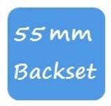 GU 55mm Backset