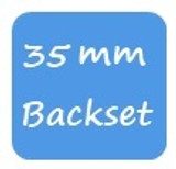 35mm Backset KFV