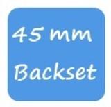 GU 45mm Backset
