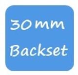 30mm Backset Fuhr