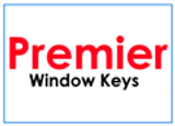 Premier window handle keys