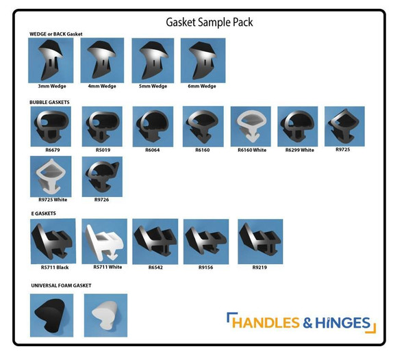 Double Glazing Seal / Gasket Sample Pack