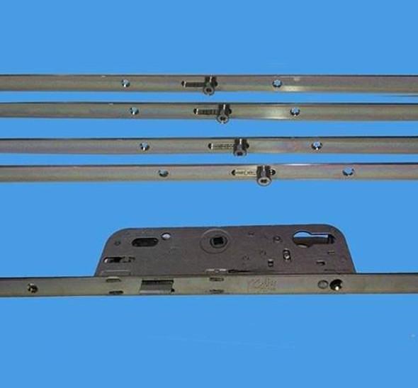 FERCO 6.35 Multipoint Sprung Door Lock, 4 Roller