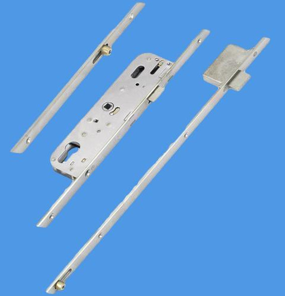 GU Ferco Munster Joinery Multipoint Latch only, 1 deadbolt and 2 rollers 70mm centres