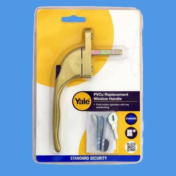 Yale Inline Locking Espag Window Handle - YWH40NB