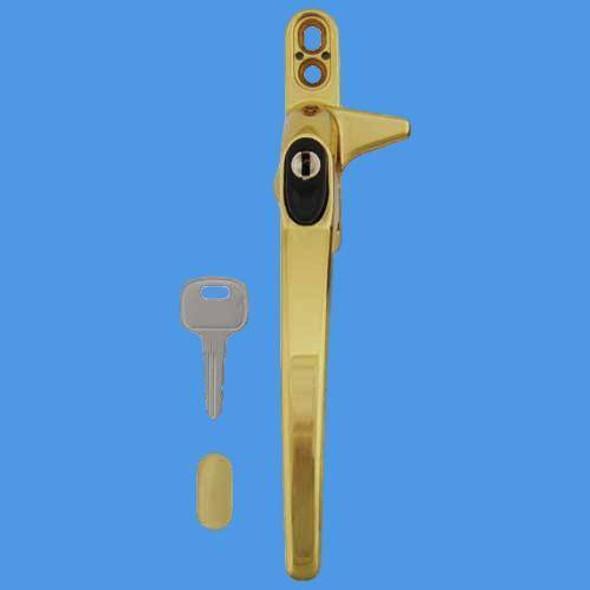 Cego Locking Cockspur Window Handle - WH12RG