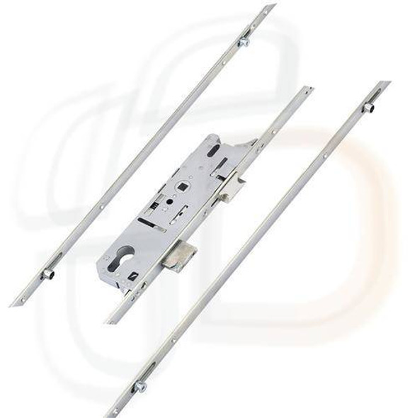 Fuhr 856 Type 2 Multipoint 2 Mushrooms and 2 Rollers Lift Lever L/L, 30mm Backset
